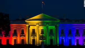 White house celubrating Equal Marraige