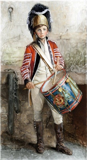 George_W._Joy,_An_English_Drummer_Boy_(1902).jpg