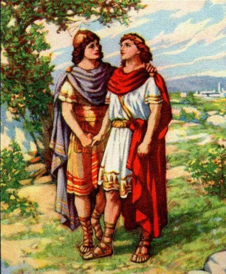 Jonathan and David are Friends I Samuel 18:1