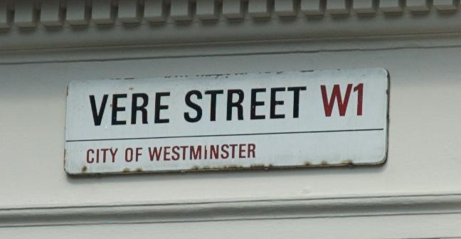 Vere_Street_Westminster_Road_Sign